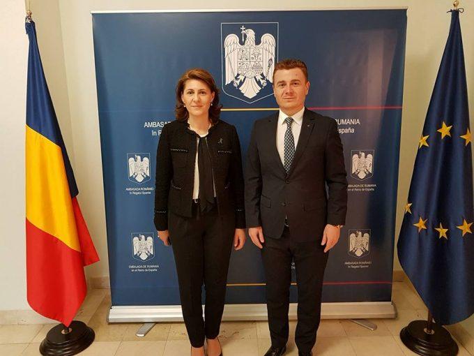 Subsecretarul de stat al MpRP, Victor Ionescu a participat la primul forum al asociațiilor românești din Spania