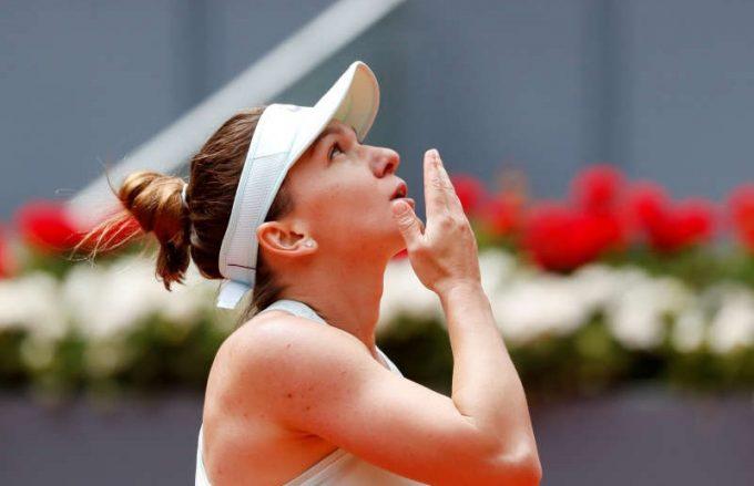 Tenis: ''Mă simt bine de fiecare dată când vin la Madrid'', spune Simona Halep
