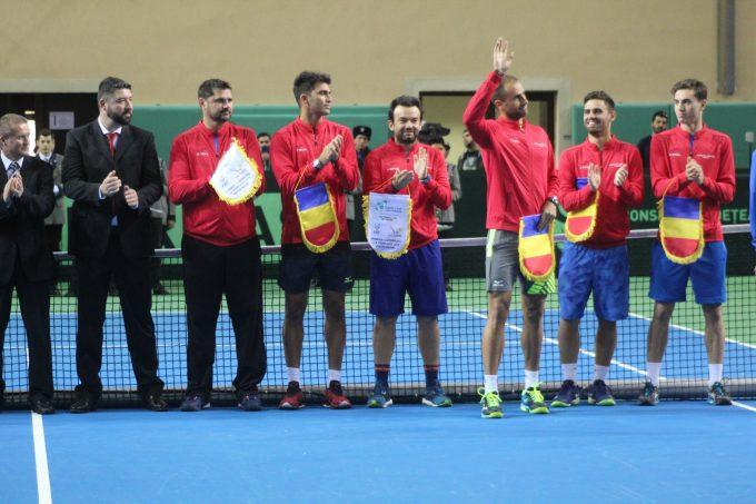Tenis: România a învins Luxemburgul cu 3-1, în Grupa a II-a a Cupei Davis