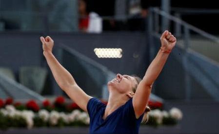Tenis: Simona Halep s-a calificat fără emoții în semifinalele turneului de la Roma (WTA)