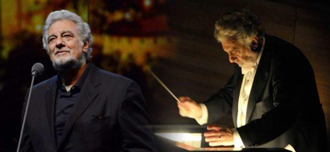 Tenorul şi dirijorul Plácido Domingo, unul dintre cei mai mari artişti de operă din lume