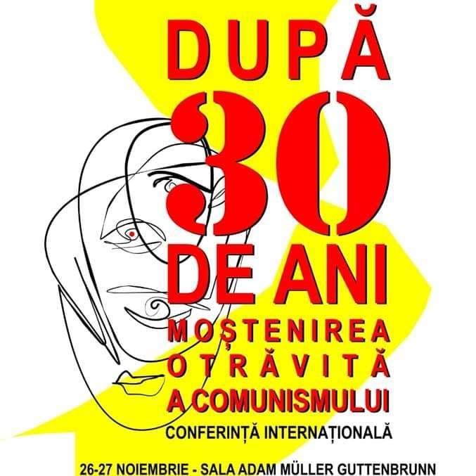 Timiş: ''După 30 de ani. Moştenirea otrăvită a comunismului'' - tema unei conferinţe internaţionale organizată de AMRT