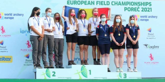 Tir cu arcul: România a cucerit patru medalii la Campionatele Europene de la Porec