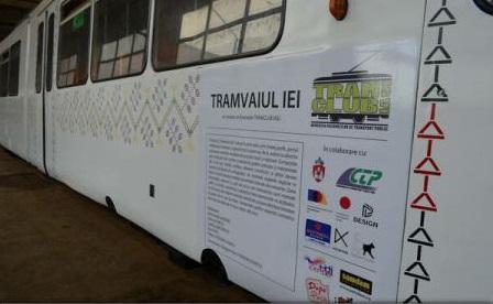 ''Tramvaiul Iei'', unicat în România, pe străzile din Iași