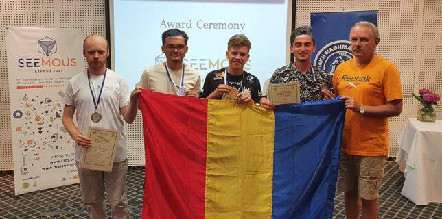 U. Babeș-Bolyai: Medalii de aur și argint pentru reprezentanții Facultății de Matematică și Informatică la SEEMOUS 2021