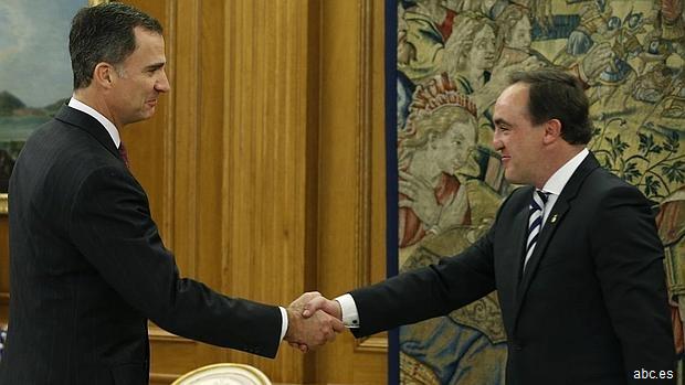 UPN transmite al Rey que «España necesita un Gobierno cuanto antes»