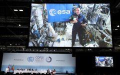 Un astronaut italian aflat în spaţiu i-a îndemnat pe participanţii la Summitul ONU de la Madrid să salveze Terra