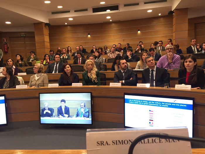 """Un gran número de empresas españolas presentes en Madrid: foro """"Oportunidades de Inversiones en Rumanía"""""""