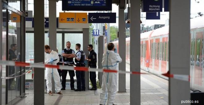 Un muerto por el ataque de un hombre con un cuchillo en una estación de trenes de Múnich