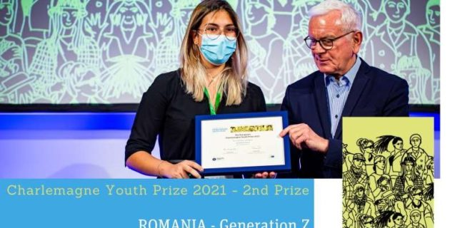 Un proiect realizat de elevi de la Colegiul ''Mihai Viteazul'', laureat la European Charlemagne Youth Prize