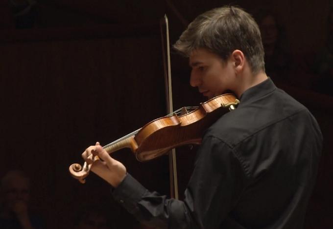 VIDEO: El violinista rumano Vlad Stanculeasa será el nuevo concertino de la OBC