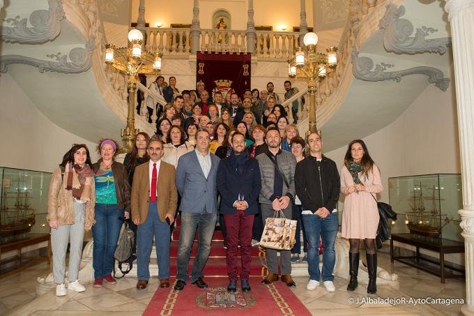 VIDEO: Profesores de Turquía, Rumanía y Reino Unido visitan Cartagena
