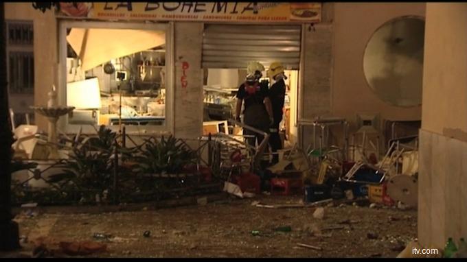 VIDEO Spania: Explozie la Malaga, numărul răniților a ajuns la 90. Ce au informat autoritățile?