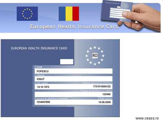 Valabilitatea cardului european de sănătate a fost prelungită la 1 an