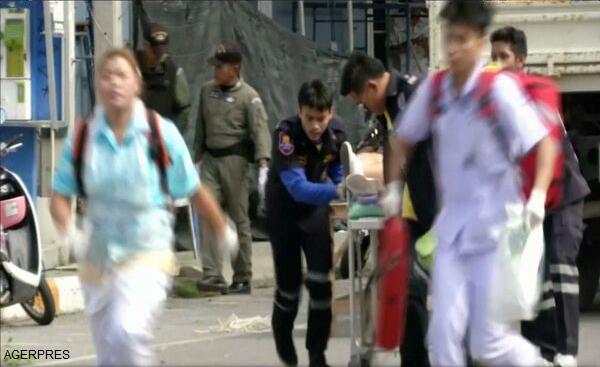VIDEO Explozii în serie în Thailanda: patru morți, zeci de răniți, între care și turiști străini