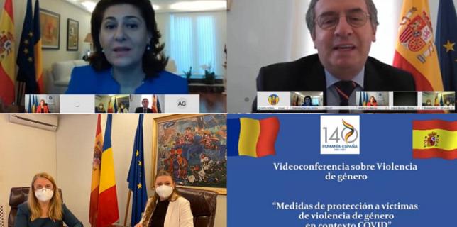 """Videoconferință organizată pe tema """"Măsurilor de protecție pentru victimele violenței de gen în context Covid-19"""""""