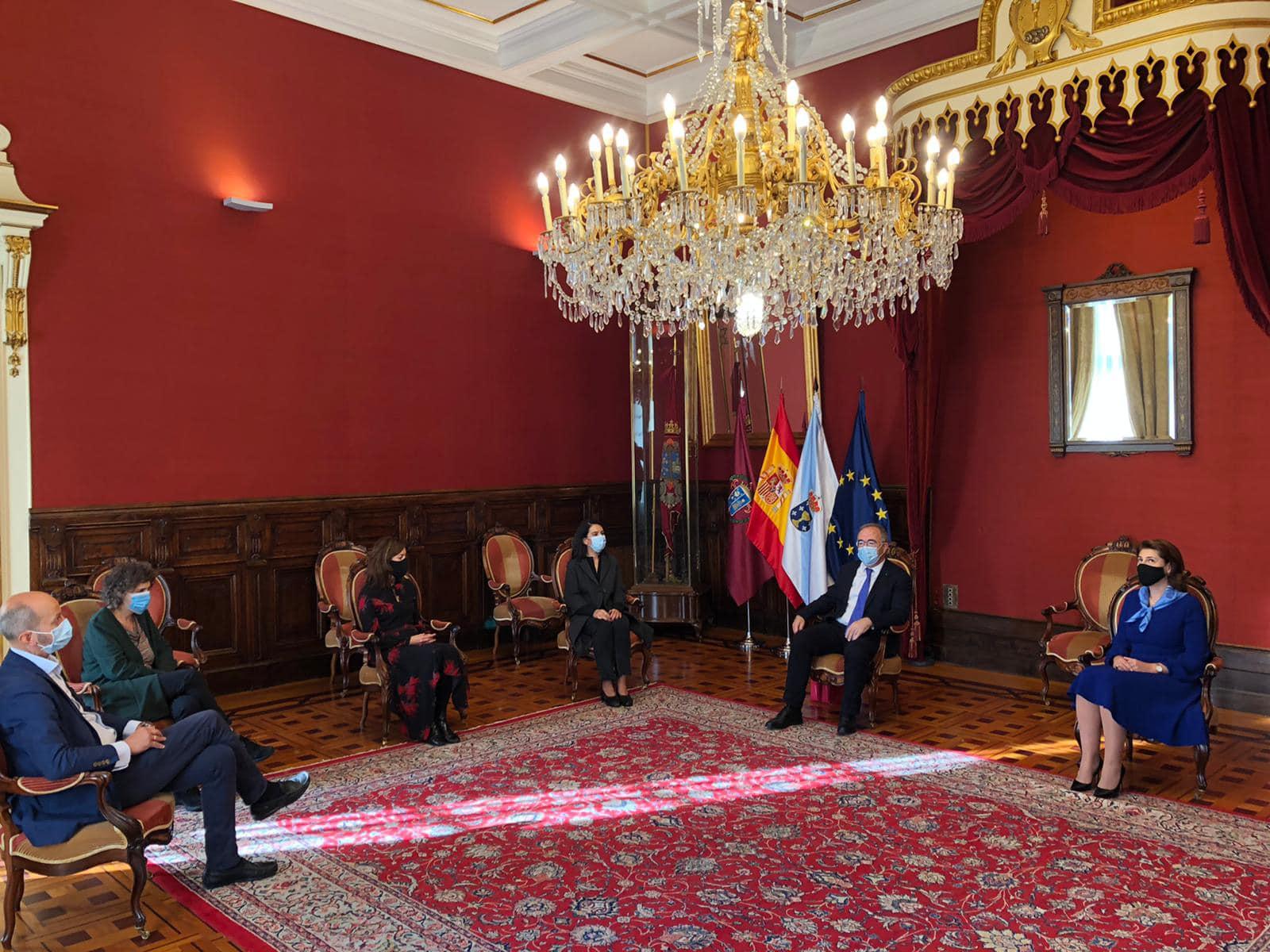 Vizită de lucru a ambasadorului român în Spania, Gabriela Dancău, în regiunea Galicia 3