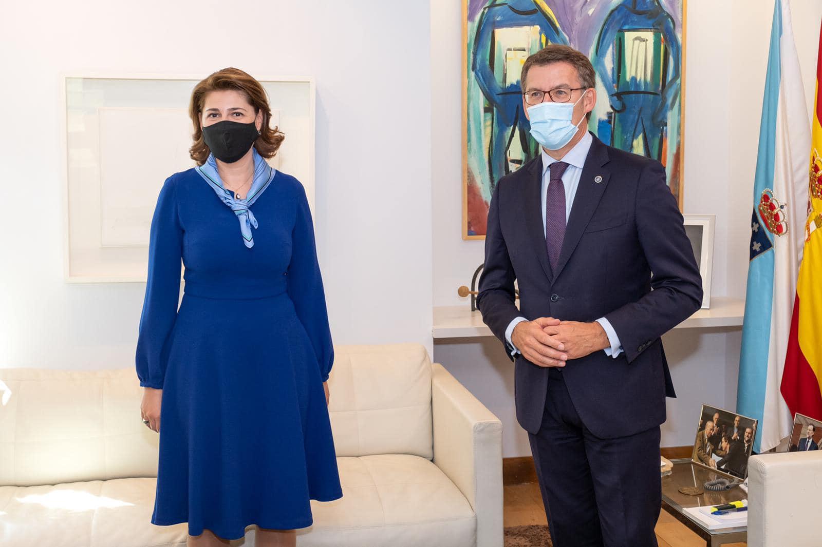 Vizită de lucru a ambasadorului român în Spania, Gabriela Dancău, în regiunea Galicia 4