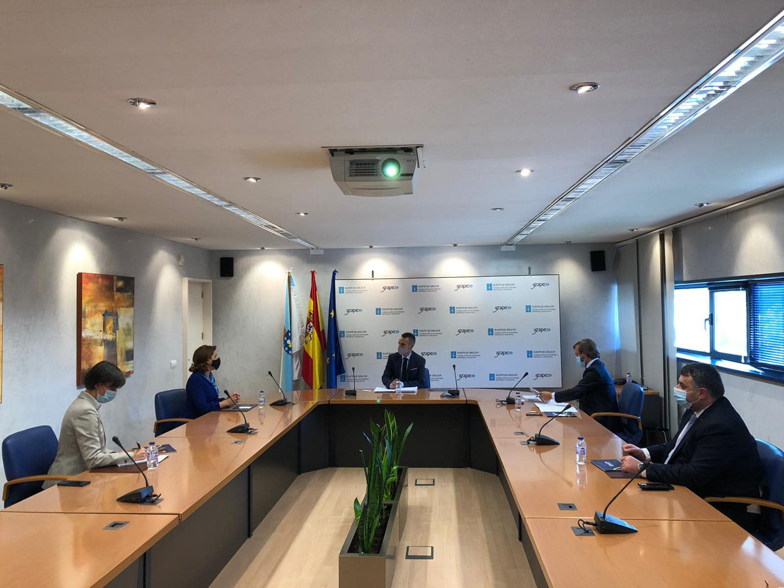 Vizită de lucru a ambasadorului român în Spania, Gabriela Dancău, în regiunea Galicia 6