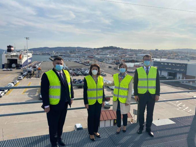 Vizită de lucru a ambasadorului român în Spania, Gabriela Dancău, în regiunea Galicia