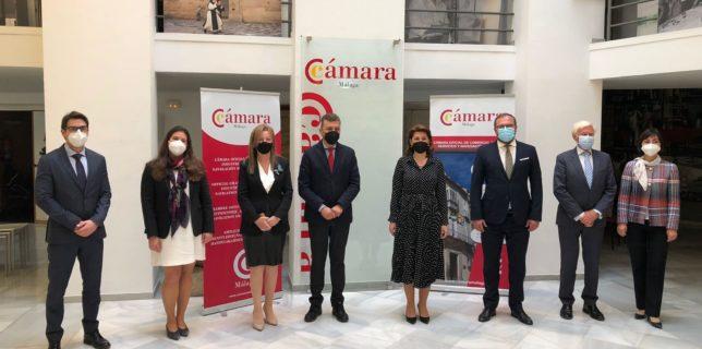 Vizită de lucru la Málaga a ambasadorului României în Spania, Gabriela Dancău