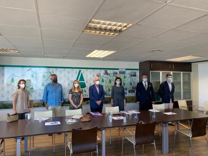 Întâlniri ale ambasadorului României cu lideri ai patronatelor agricole din Andaluzia
