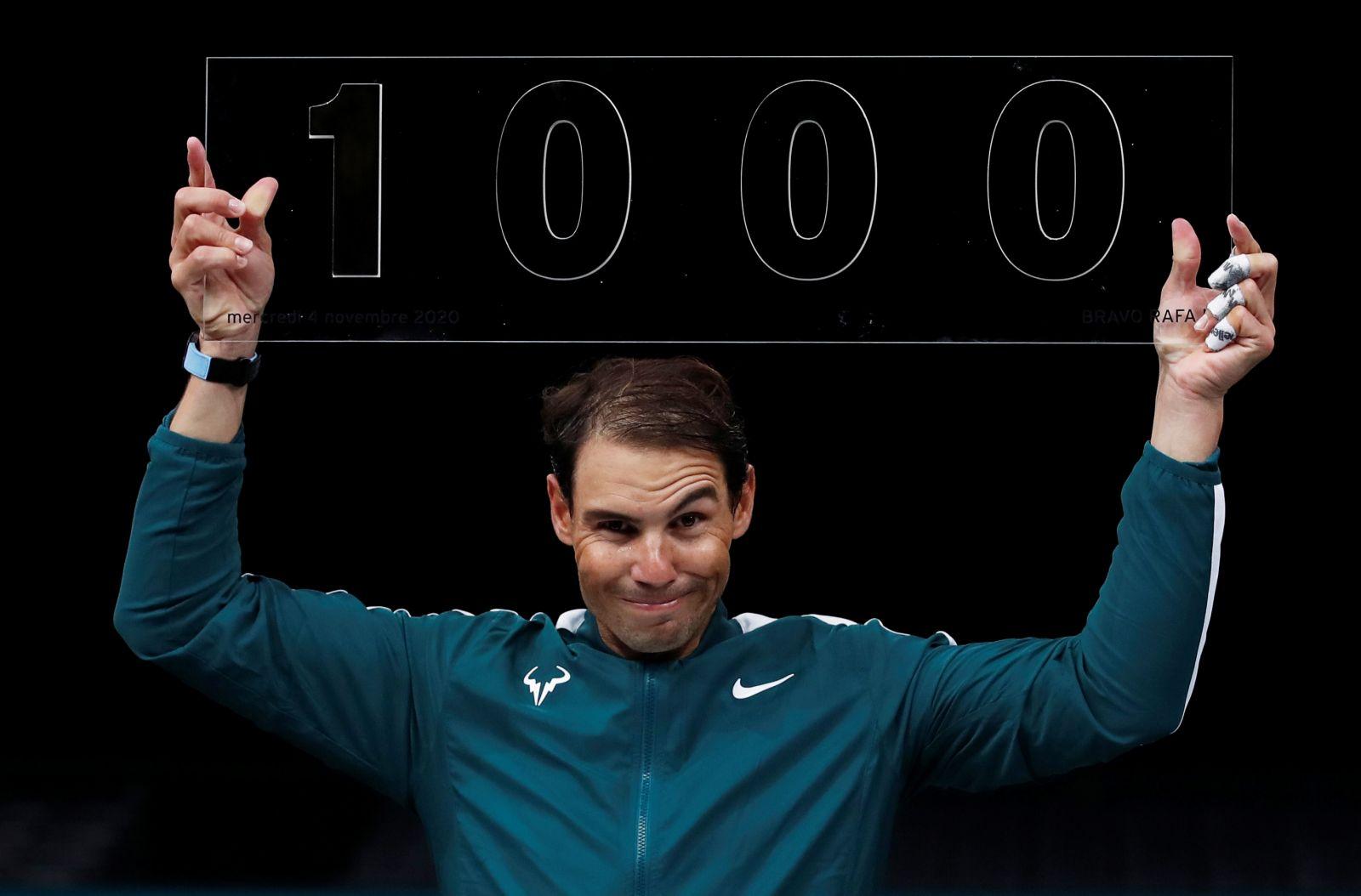 Tenis: Nadal a reuşit victoria sa cu numărul 1.000, la turneul ATP Masters de la Paris