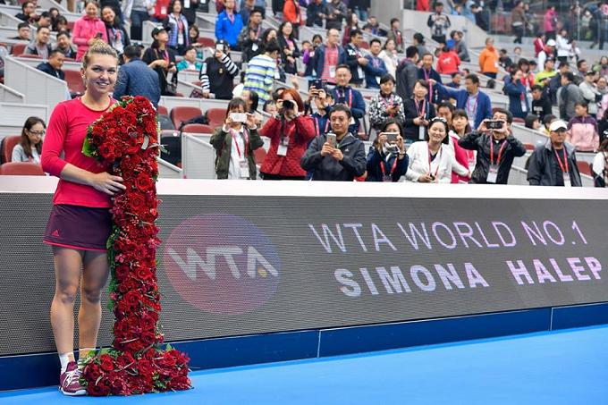 VIDEO: La tenista rumana Simona Halep, nueva número uno mundial